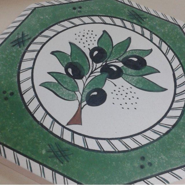 Stripy green design inspired by various sources // çeşitli kaynaklardan esinlenmiş yeşil çizgili bir desen